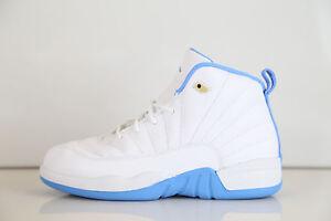 9daef7de16e Nike Air Jordan Retro 12 Melo PE White University Blue 510816-127 1 ...