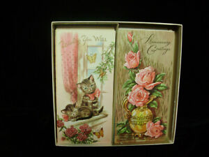 VINTAGE-NOS-BOX-18-ALL-OCCASION-GREETING-CARDS-BIBLE-VERSES-1-SUNSHINE-LINE