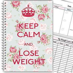 Diat Tagebuch A5 Abnehmen Nahrung Tracker Diat Gewichtsverlust