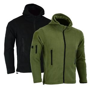 Tactical-Recon-Zip-Up-Fleece-Jacket-Army-Hoodie-Security-Police-Hoody-Combat-uk