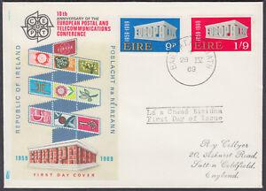 1969-Eire-Ireland-EUROPA-CEPT-PhilArt-FDC