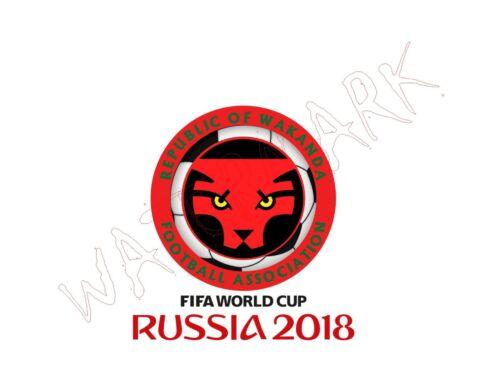 World Cup Soccer FIFA Avengers Black Panther Infinity War Parody Men/'s Wakanda