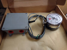 Anderson Instrument Pressure Gauge And Relay 60psi Low 540psi High 12 24vdc