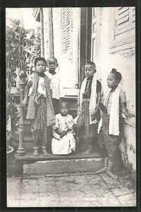 Phnom-Penh-Children-Mandarin-Costume-Cambodia-ca-1910