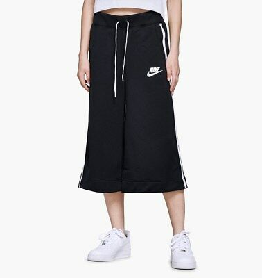 Nike Damen NSW 34 Hosen Neu Schwarz Rot Weiß Damen Sportkleidung 932103 011 | eBay