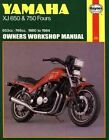 Yamaha XJ650 and 750 Fours 1980-84 Owner's Workshop Manual by Pete Shoemark (Paperback, 1988)