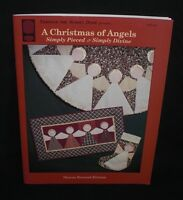 Autographed Signed Rexroad-ericson A Christmas Of Angels Quilt Pattern Book