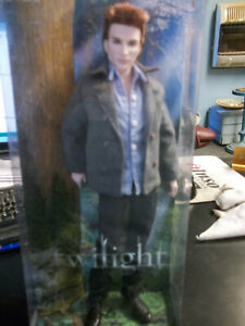 The Twilight Saga EDWARD ~ Pink Label Barbie Collector Doll ~ New in Box