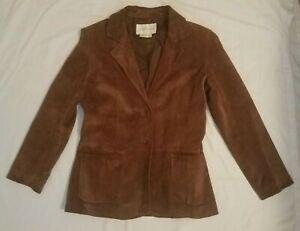 Margaret-Godfrey-100-leather-brown-jacket-size-Medium