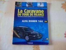 MAGAZINE CARAVANE TOUR DE FRANCE N°56 ALFA ROMEO 166