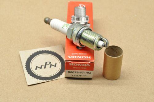 New Honda 2008-2009 TRX700 NGK Spark Plug Qty 1 98079-5714G ZFR7F-11