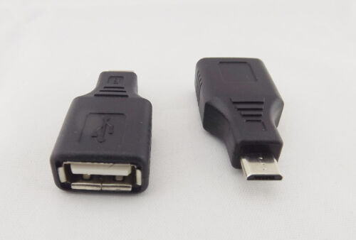 10pcs F//M USB 2.0 A Female To Micro USB B 5 Pin Male Plug OTG Adapter Converter