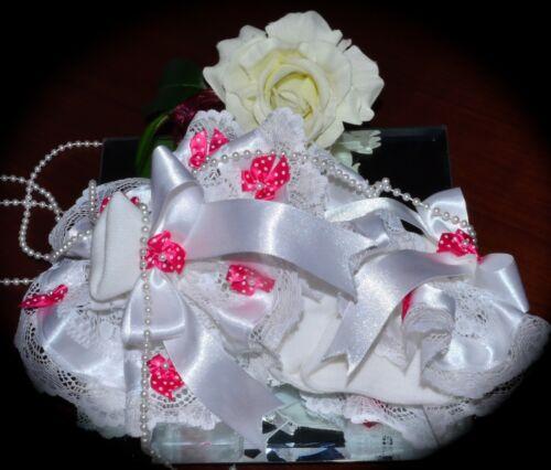 ❤️White Soft Ankle Frilly Polka Dot Bow Embellishment Socks Jazziejems Boutique