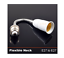 4 Pack E27 Adjustable Flexible Light Bulb Extension Socket Lamp Adapter Extender