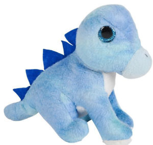 "3.5/"" Pteranodon Dinosaur Plush Stuffed Animal Jurassic Dino Mighty Mights Blue"