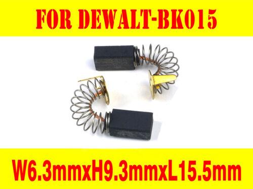 Carbon Brushes For Dewalt B/&D BK015 400814-00 DW157 5140 7616 Router Drill Press