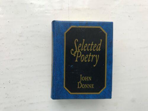 JOHN DONNE DEL PRADO MINIATURE BOOK LIBRARY CLASSICS SELECTED POETRY