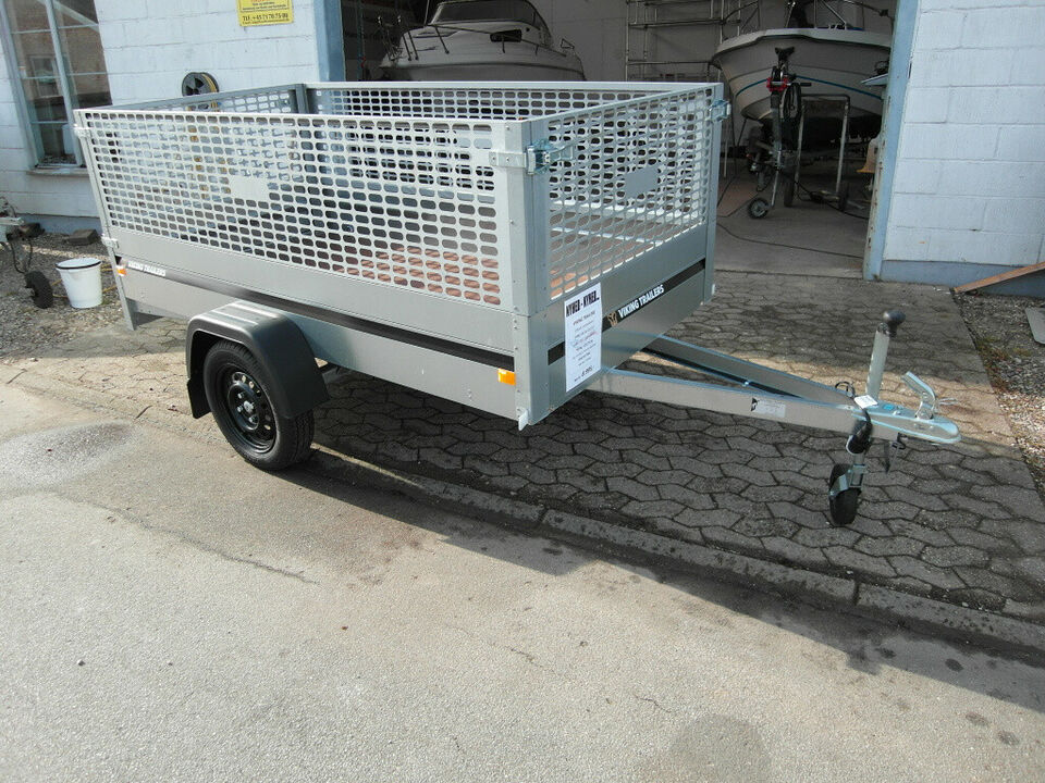 12) Viking trailers - model 07 2512 - 750 kg