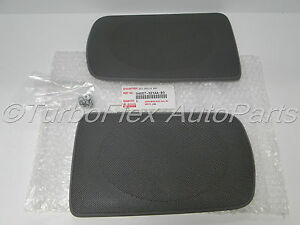 toyota camry 2002 2006 genuine oem rear speaker grill cover gray 04007 521aa b0. Black Bedroom Furniture Sets. Home Design Ideas