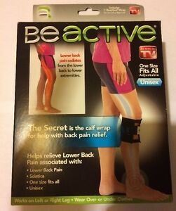 426cfc3f77 As Seen On TV - BE ACTIVE The Wrap For Back Pain Relief | eBay