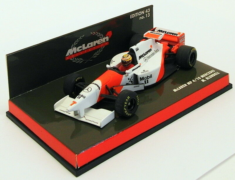 Minichamps 1 43 Scale 530 964307 - F1 McLaren Mercedes MP 4 10 - M.bleundell