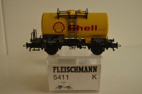 Vagón Fleischmann 5411 K combustible Shell H0