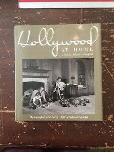 1990-Hollywood-At-Home-by-Richard-Schickel-1st-Edition-Hardcover-and-Dust-Jacket