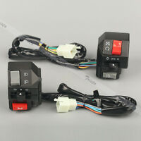 Motorcycle 7/8 Handlebar Horn Turn Signals Electrical Start Switch For Yamaha