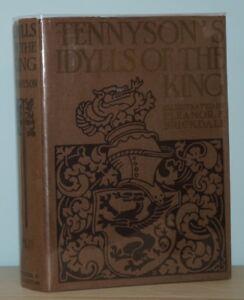 Tennyson / Eleanor F Brickdale - Idylls of the King - 1st 1st 1st ISSUE - SCARCE