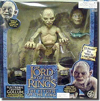 Lord of the Rings  Return of the King Deluxe Talking 10 inch Gollum Figure