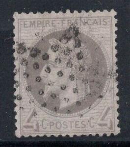 France-1863-Yv-27-Oblitere-40-4-C-Louis-Napoleon-III