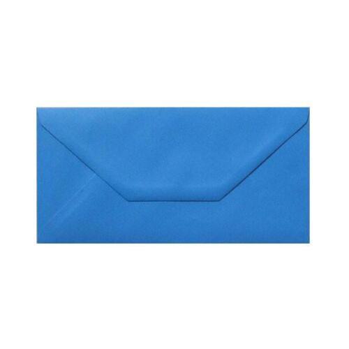DL Deep Blue Envelopes Greeting Card Invitations Crafts 110mm x 220m