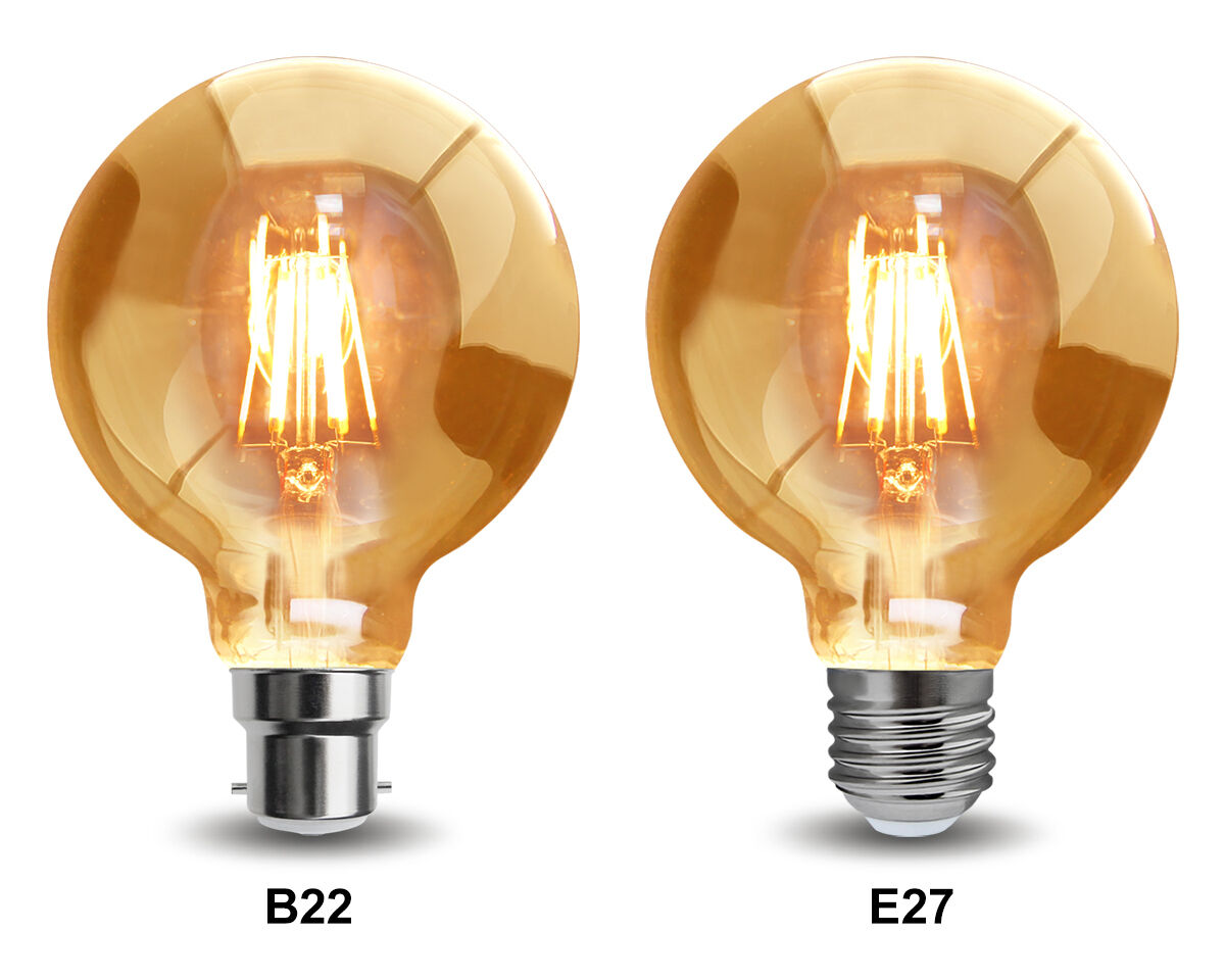 vintage dimmable led 6w globe cage edison style light bulb b22 or e27 ebay. Black Bedroom Furniture Sets. Home Design Ideas