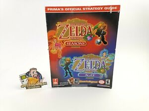 """Nintendo Gameboy Color Strategy Guide """"Legend of Zelda Oracle of Ages & Seasons"""""""