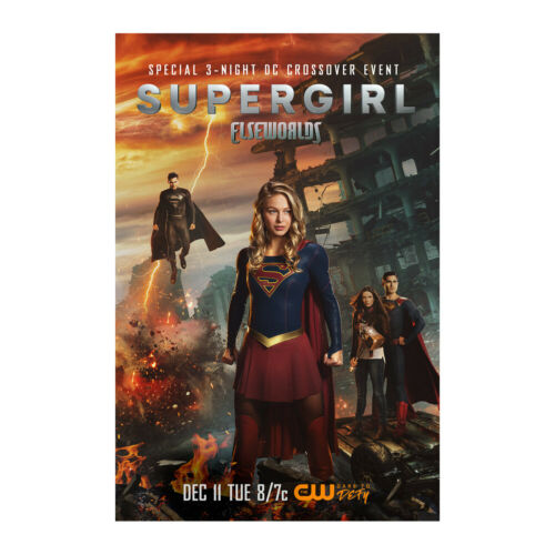 Supergirl Season 4 Elseworlds TV Show Art Poster Print Wall Picture 24/'/'x36/'/'