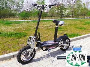 Scooter-elettrico-1000-Watt-ruota-alta-da-10-034-36V-1000W-monopattino-certificato