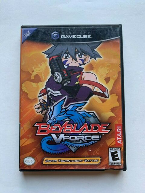 Beyblade: V Force Nintendo GameCube 2003 Complete W/ Manual Video Game Rated E
