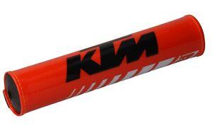 Blackbird-KTM-Handlebar-Pad-Lenkerrolle-bar-Pad-Orange-Black-White