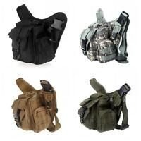 Molle Tactical Shoulder Strap Bag Camera Military Pouch Travel Backpack Hot G6g2