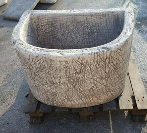 Vasca Lavatoio Da Esterno.Fontana Vasca Lavatoio Da Parete A Muro Per Esterno Giardino In Pietra E Marmo Ebay