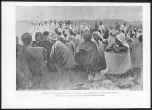 1898-Antique-Print-AFRICA-Hinterland-Expedition-Plaver-Amraha-Accra-299