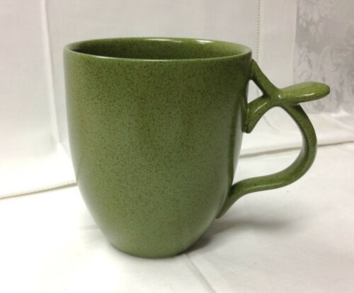 "LINDT-STYMEIST /""MOSS/"" GIANT MUG 4 3//8/"" RSO CRAFTWORKS 16 OUNCE  NEW JAPAN"