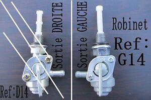 Robinet Essence M10 125 Fuel Tank Groupe Electrogene Sortie A Gauche