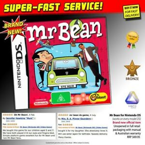 MR-BEAN-game-NEW-AU-PAL-Nintendo-DS-NDS-2DS-3DS-XL-family-TV-DVD-movie-series