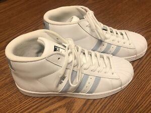Adidas bw1306 unisex (modello bt alta luce bianca blu guscio tep