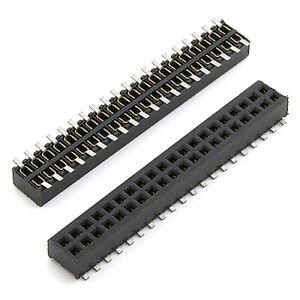 [10pcs] 23-5016-2020-10-001 Socket 2x20 Pin SMD