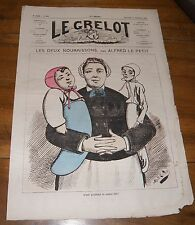 Le Grelot Journal Satirique N°140 Les Deux Nourrissons Par Alfred Le Petit 1873