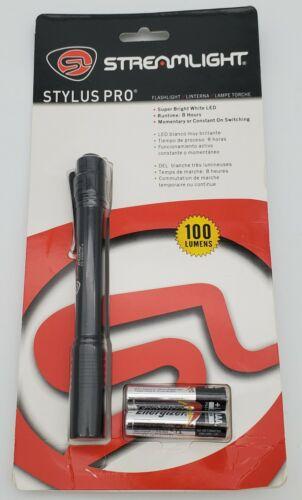 Streamlight™ Stylus Pro LED Pen Light with Holster Black//100 Lumens