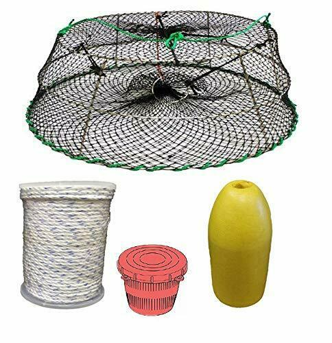 KUFA Sports Tower Style Stainless Steel Prawn Trap & Accessories CT76+PAM3