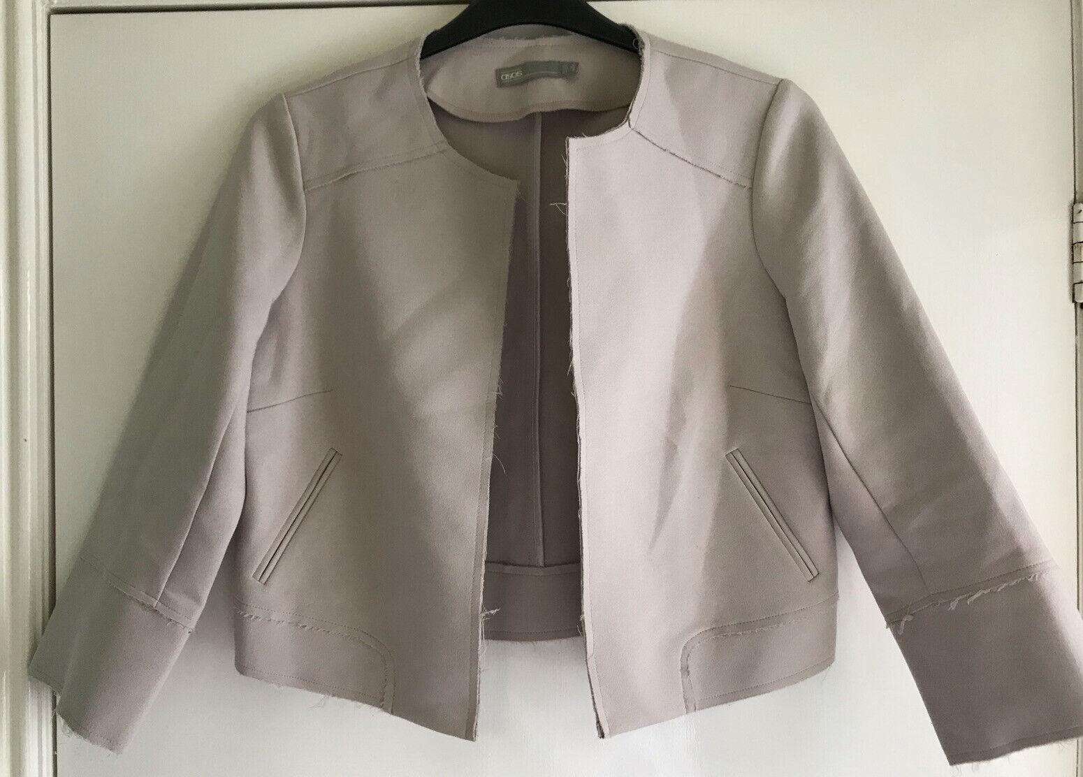 Asos Cropped Jacket Size 12